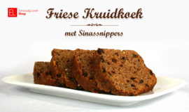 Bakmix - Friese kruidkoek - Sinassnippers - 600 gram