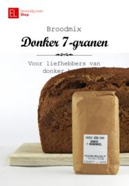 Broodmix - donker 7-granenmix -  1250 gr