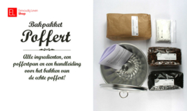 """Bakpakket """"Poffert klein"""""""