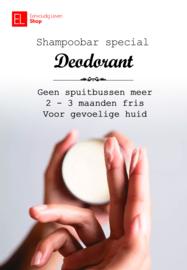 Shampoo Bar - Deodorant