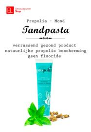 Propolia - Mond - Tandpasta met propolis en mint - zonder fluoride