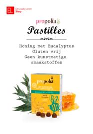 Propolia - Keel & Ademhaling - Pastilles - Honing met Eucalyptus