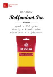 Rolfondant - Renshaw - 250 gram - Geel