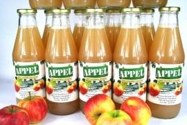 Sap - Appelsap - fles - uit de Alblasserwaard - 740 ml