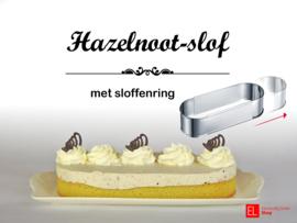 Bakpakket - Hazelnootslof - met sloffenring - 600 gram