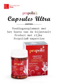 Propolia - Intense - Propolis Ultra capsules -  80 stuks