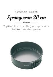 Bakvorm - Springvorm  - 20 cm - 20 jaar garantie!