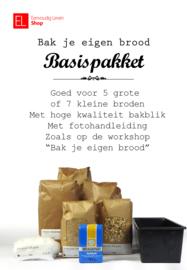 """Basispakket """"Bak je eigen brood"""" Plus"""