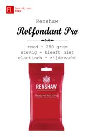 Rolfondant - Renshaw - 250 gram - Rood