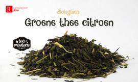 Thee - Biologisch Groene thee citroen - 60 gram