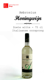 Wijn - Honingkruidenwijn - wit - 75 cl