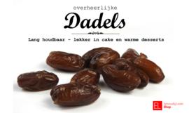 Dadels pitloos 250 gram