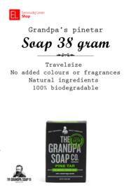 Grandpa´s Pine Tar Soap Travelsize 38 gram