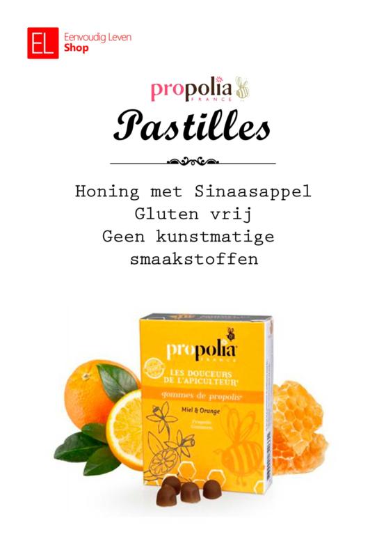 Propolia - Keel & Ademhaling - Pastilles - Honing met Sinaasappel