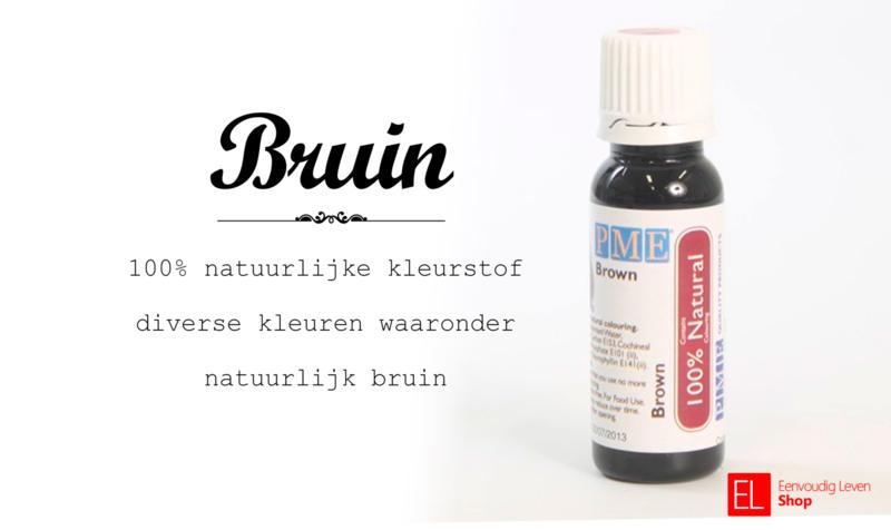 100% natuurlijke Kleurstof Bruin 27