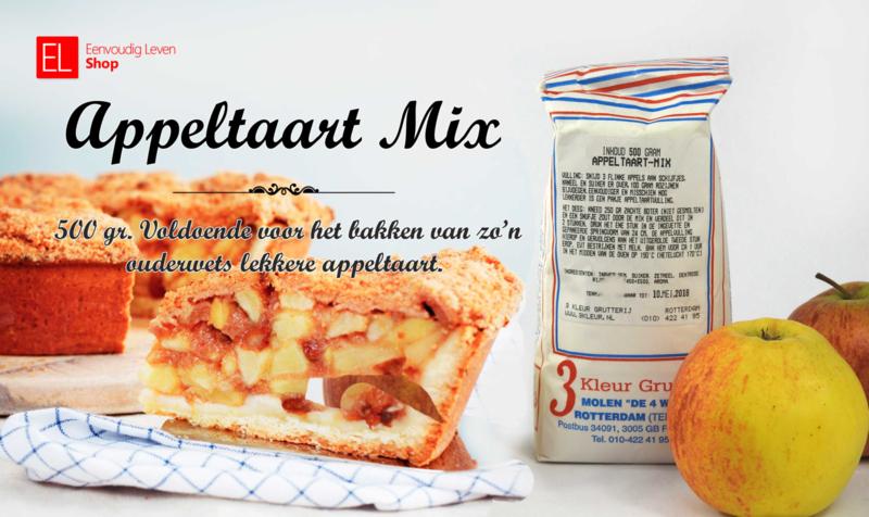 Bakmix - Appeltaart - 500 gram