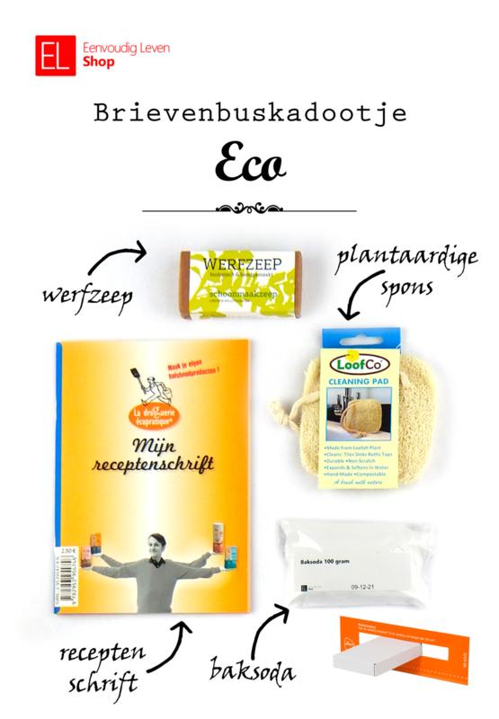 Brievenbuskadootje - Eco