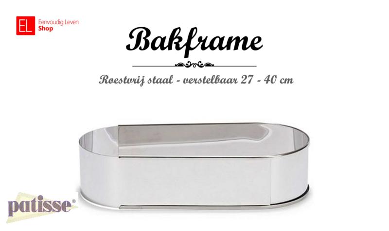 Bakvorm - Slof - 27 - 40 cm - Patisse