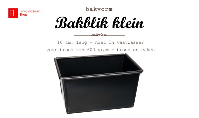 Bakvorm - Broodvorm  - 16 cm -  voor brood van ca. 600 gram