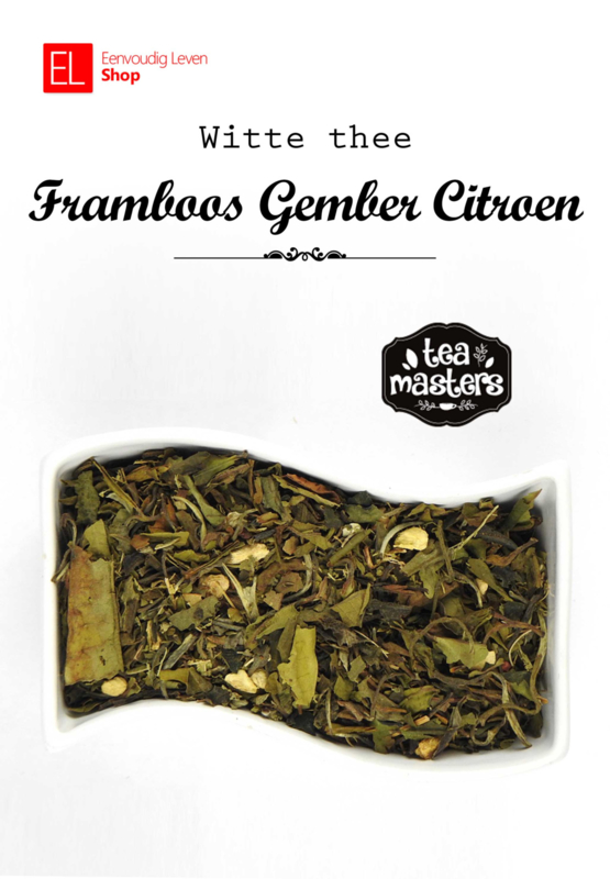 Thee - Witte thee Framboos gember citroen - 45 gram