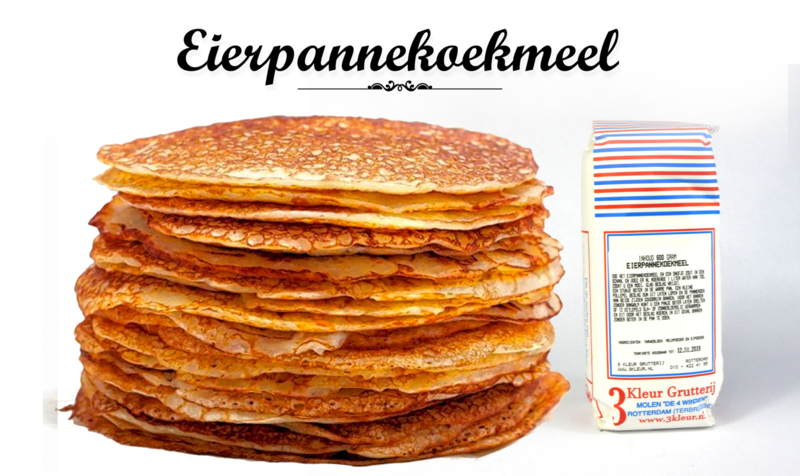 Bakmix - Pannenkoeken / Eierpannenkoeken - 600 gram