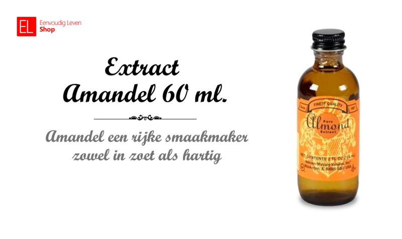 Extract - Amandel - 60 ml