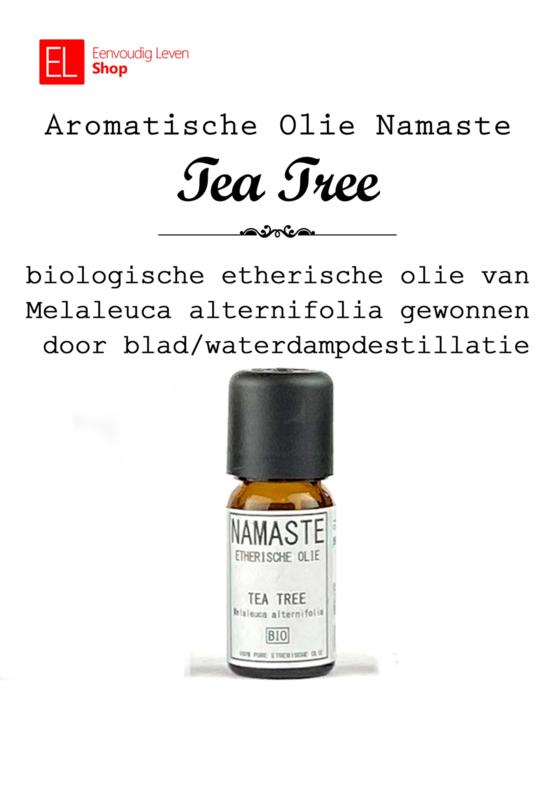 Aromatische olie - Tea Tree - biologisch - Namaste