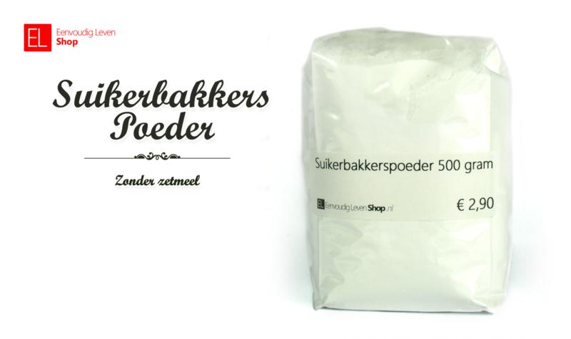 Suiker - Suikerbakkerspoeder - 500 gram