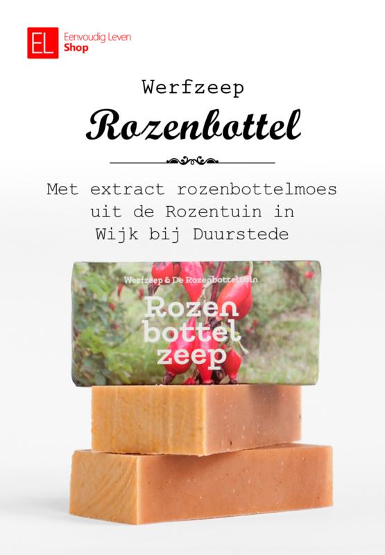 Zeep - Werfzeep - Rozenbottel