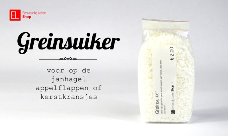 Greinsuiker - 250 gram