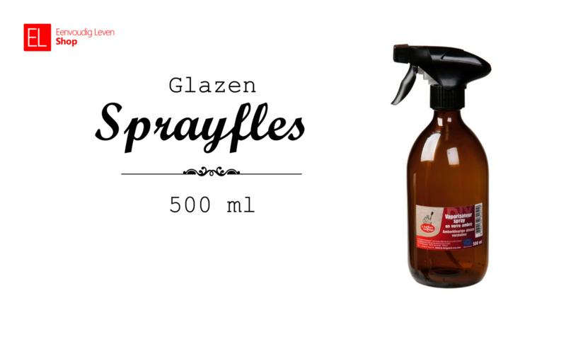 Glazen sprayfles - 500 ml