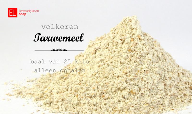 Basisproduct - Tarwemeel - Volkoren - Voor bruinbrood - 25 kg baal
