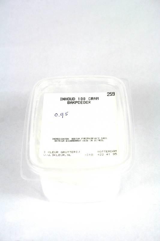 Bakpoeder 150 gram