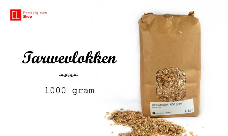 Tarwevlokken - 1000 gram