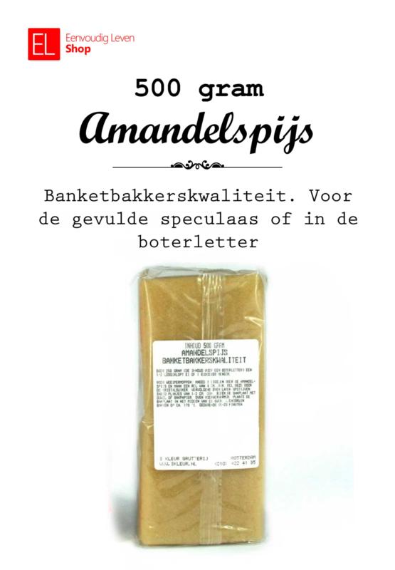 Amandelspijs - 500 gram