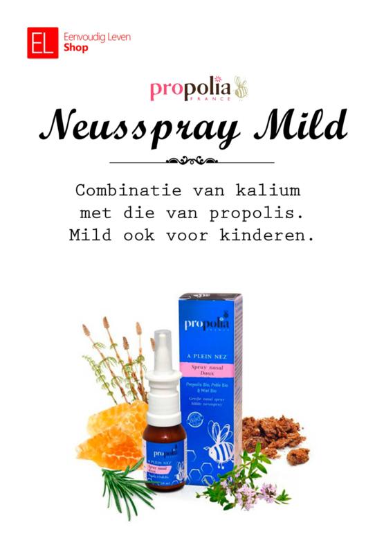 Propolia - Keel & Ademhaling - Neusspray - Mild