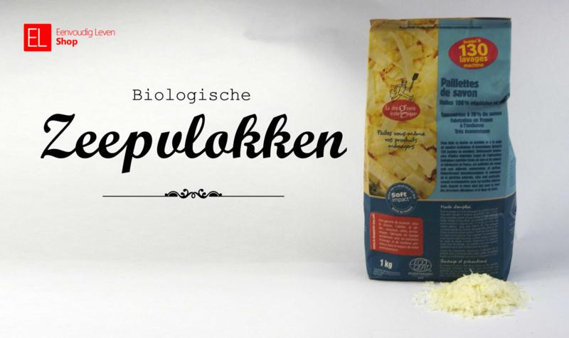 Biologische zeepvlokken van Ecodis, zak van 1 kilo!