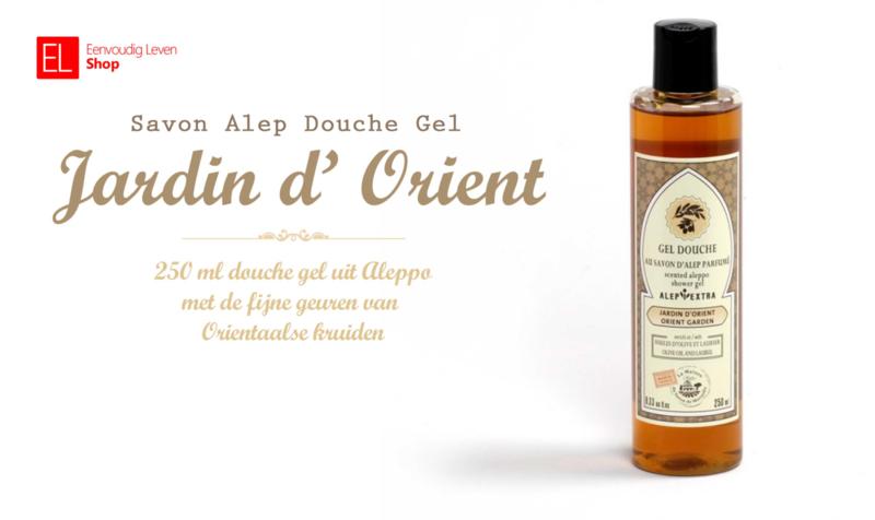 Savon Alep - Douche Gel - Jardin Orient - 250 ml