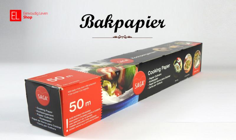 Bakpapier - Kookpapier - Siliconenpapier - 50 meter!