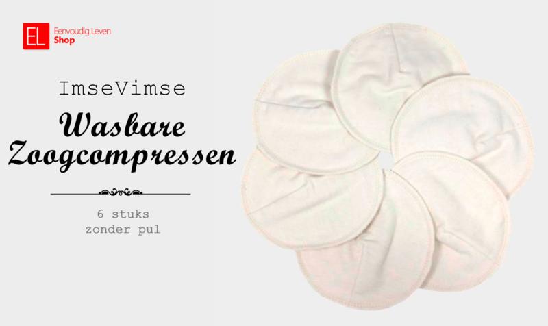 Zoogcompressen - Soft & Absorbent - 6 stuks - Wit