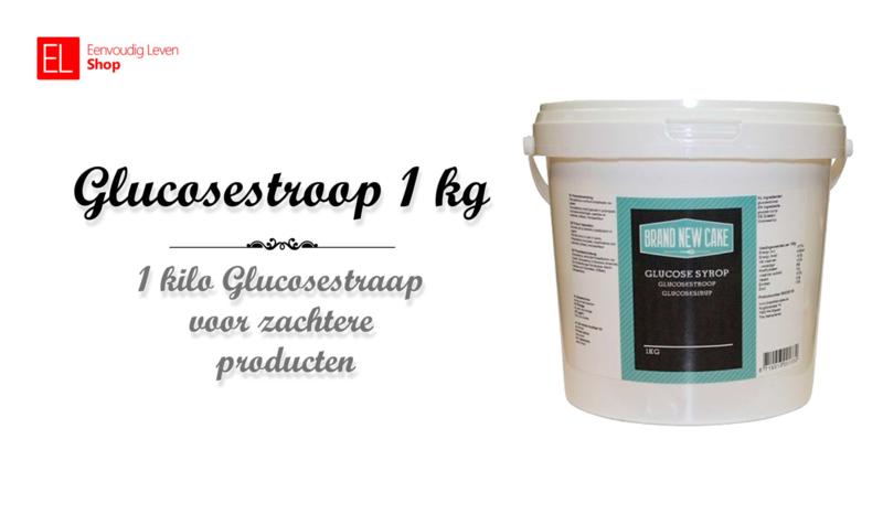 Glucosestroop - Brand New Cake - 1 kg.