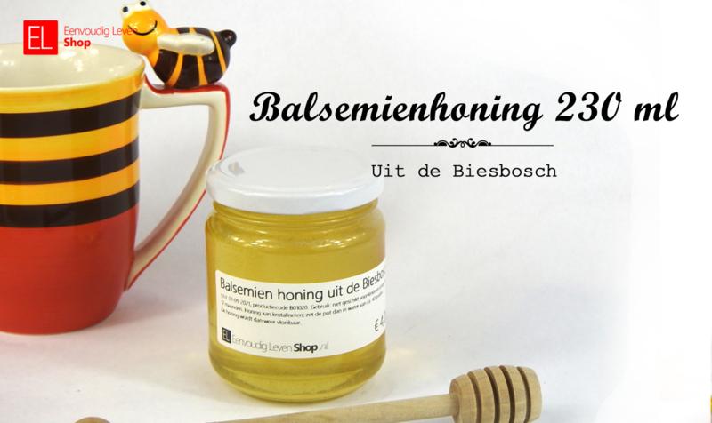 Honing - Balsemienhoning uit de Biesbosch 230 ml