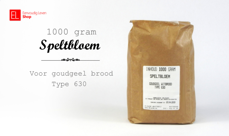 Basisproduct - Speltbloem - 1000 gram