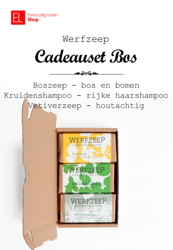 Zeep - Werfzeep - Cadeauset Bos