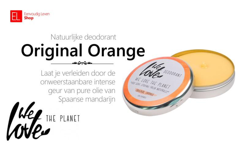 Deodorant - We Love the Planet - Original Orange