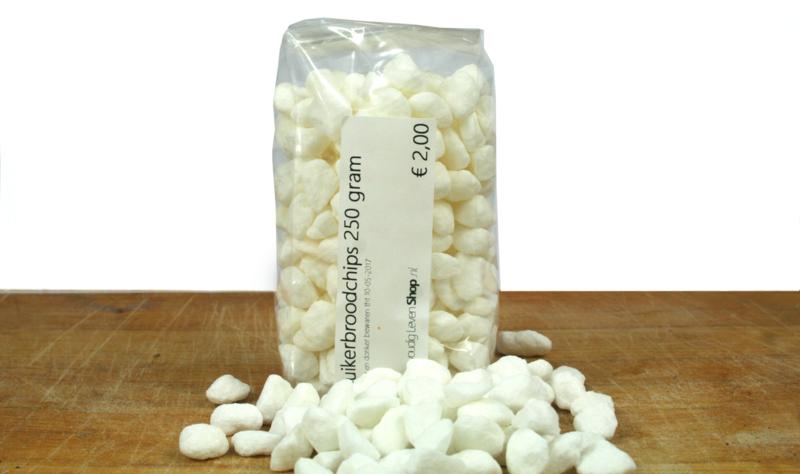Suiker - Suikerbroodchips - 250 gram