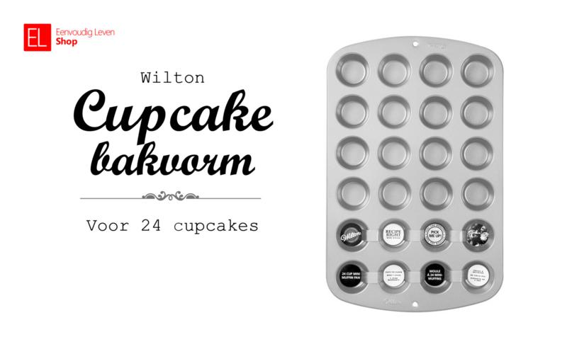 Bakvorm - Mini cupcakes - 24 stuks - Wilton