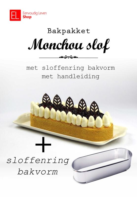 Bakpakket - Monchouslof - met sloffenring bakvorm