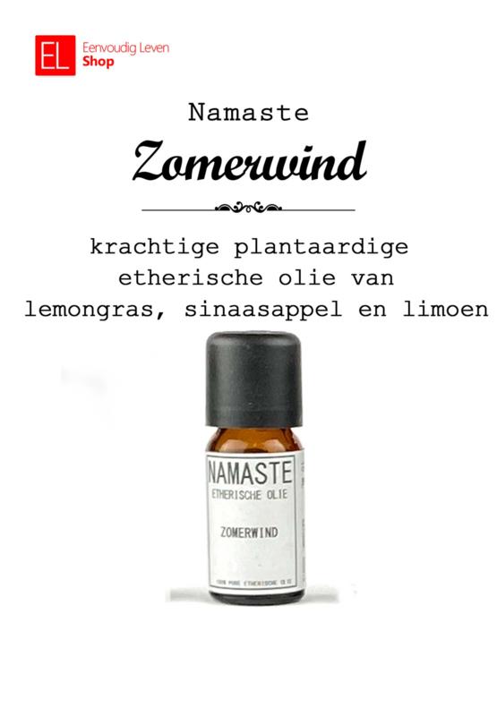Aromatische olie - Zomerwind - Namaste - 10 ml