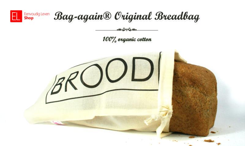 Bag-again® original breadbag BROOD maat L